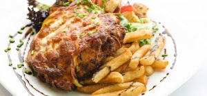 $9.99 Parmy Special at The Railway Hotel