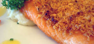 $17 Baked Salmon at Albion Hotel