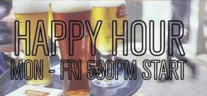$8 Happy Hour at The Brisbane Hotel