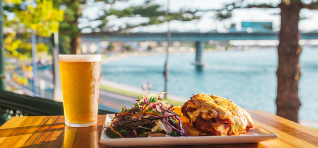 $17 Parmy & Pint at The Left Bank
