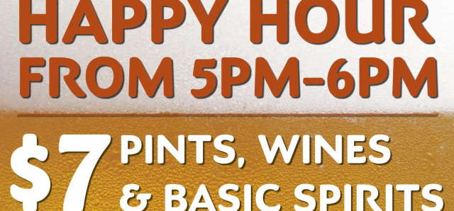 $7 Happy Hour at Universal Bar