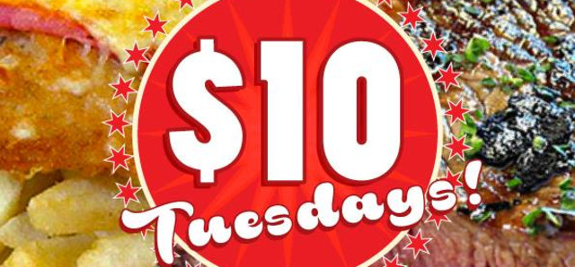 $10 Tuck in Tuesdays at The Cricketers