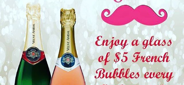 $5 $5 French Bubbles! at Rubix Bar