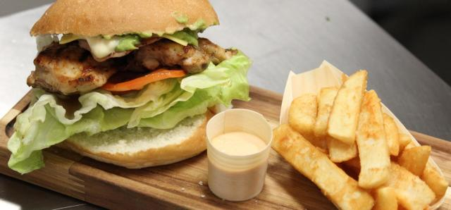 $10 Gourmet Burger at Lapa Brazilian BBQ