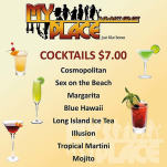 $7 Cocktails at My Place Bar & Restaurant