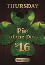 $16 Pie of the Day at Durty Nelly's Irish Pub