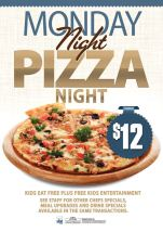 $12 Pizza Night at The Saint George Hotel