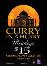 $15 Curry In A Hurry at The Carine
