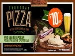 $10 Pizza at Wanneroo Villa Tavern