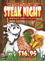 $16.95 Meat Lovers Night at Market City Tavern
