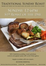 $19 Roast Of The Day at Conservatory Rooftop Bar