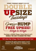 Double Upsize at Greenwood Hotel