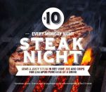 $10 Steak Night at Scarborough Beach Bar