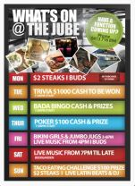 $2 Delicious Steaks at Jubilee Hotel