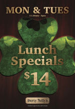 $14 Lunch Special at Durty Nelly's Irish Pub
