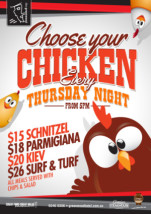 $15 Choose Your Chicken at Greenwood Hotel