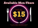 $15 Meal Deal at O.P's Tavern