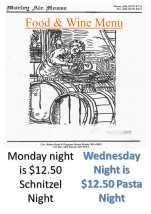 $12.50 Pasta Night at Morley Ale House