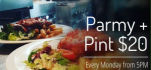 $16.50 Parmy Night at Victoria Park Hotel
