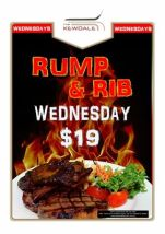 $19 Kewdale Rump & Rib at The Kewdale Tavern