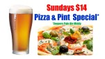 $14 Pizza & Beer at Charles Hotel