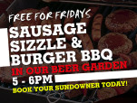 Free Sausage Sizzle & BBQ at High Wycombe Tavern