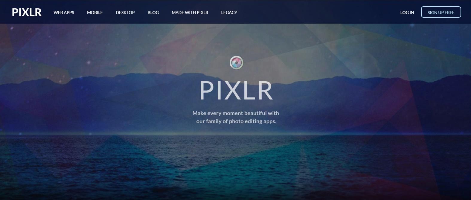 online photo editing website