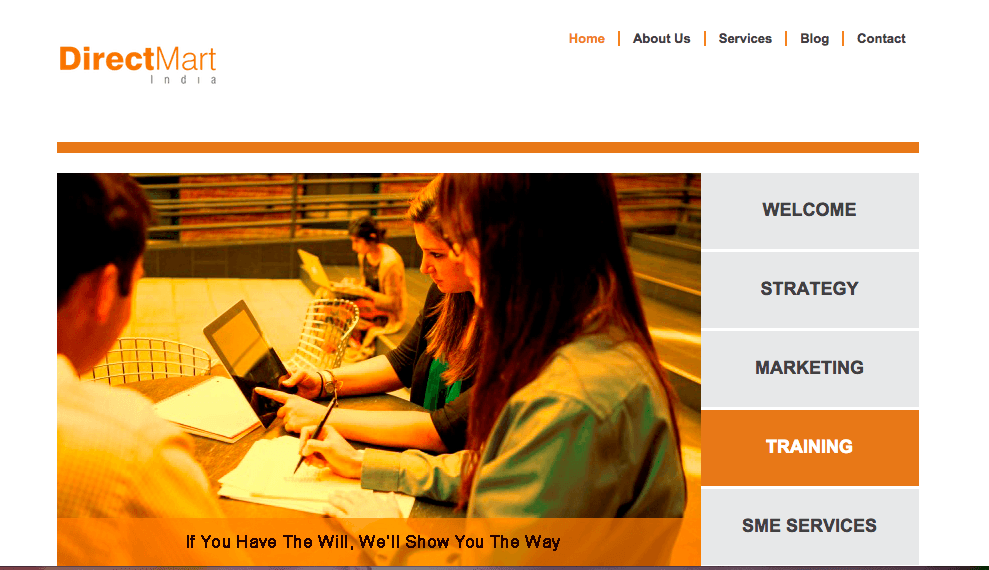 website development agency mumbai Directmart 1