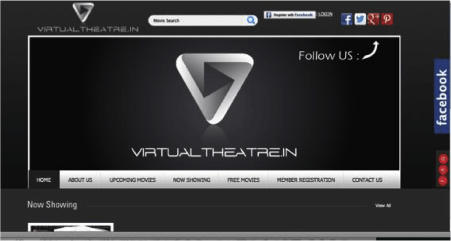 Best website developers mumbai Virtual Theatre