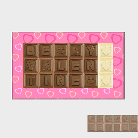 Products  ChocoLetterca  Say your feelings with Chocolate Letters