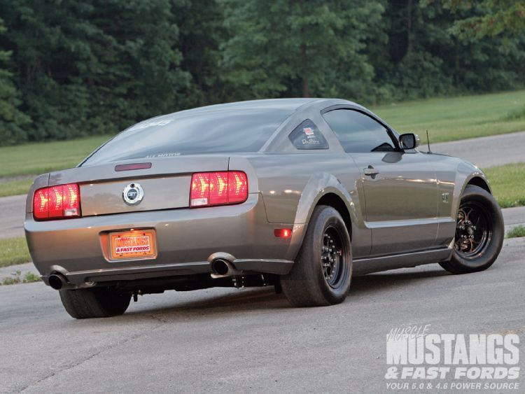 On The Mustang Gt