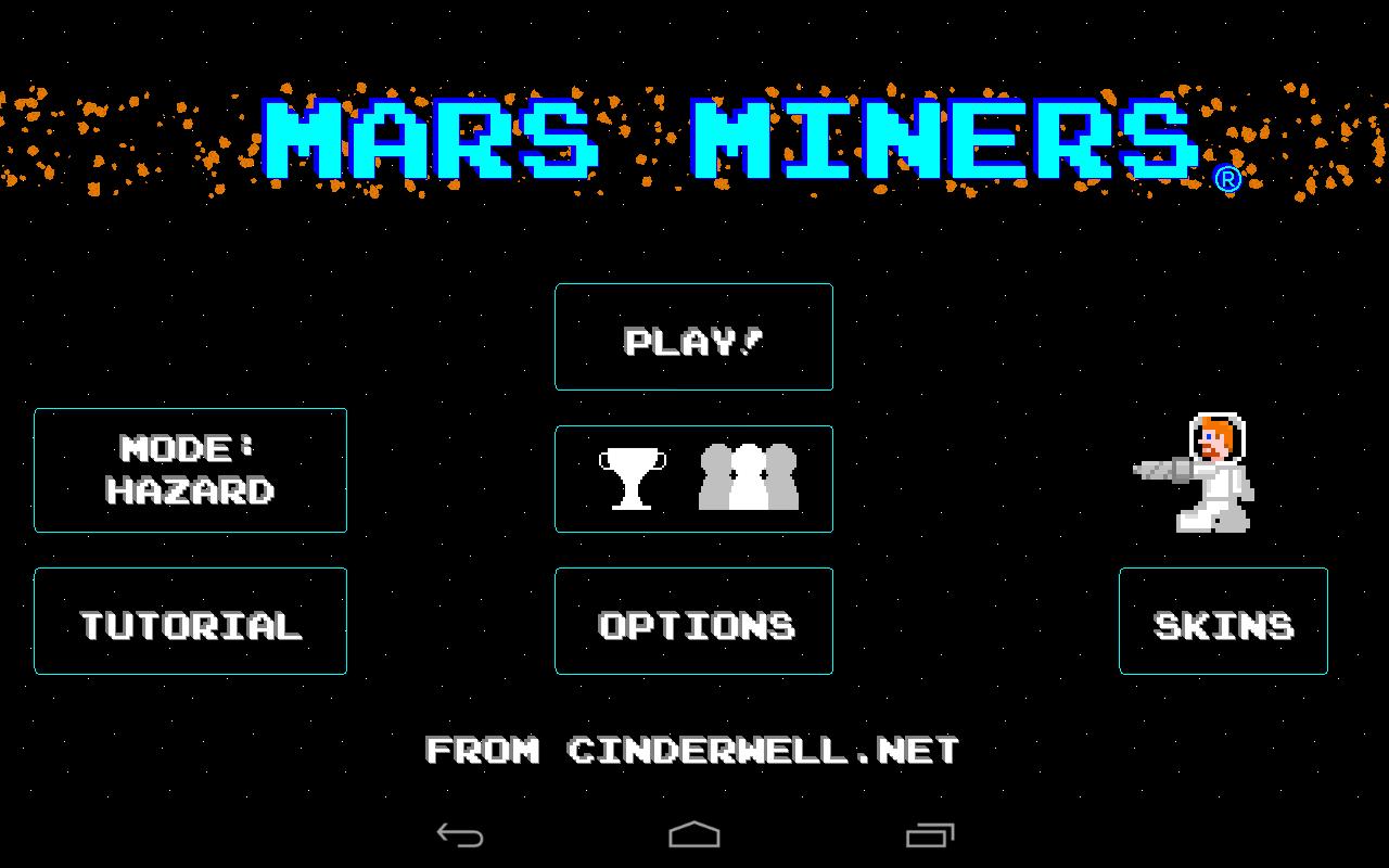 Mars Miners Splash