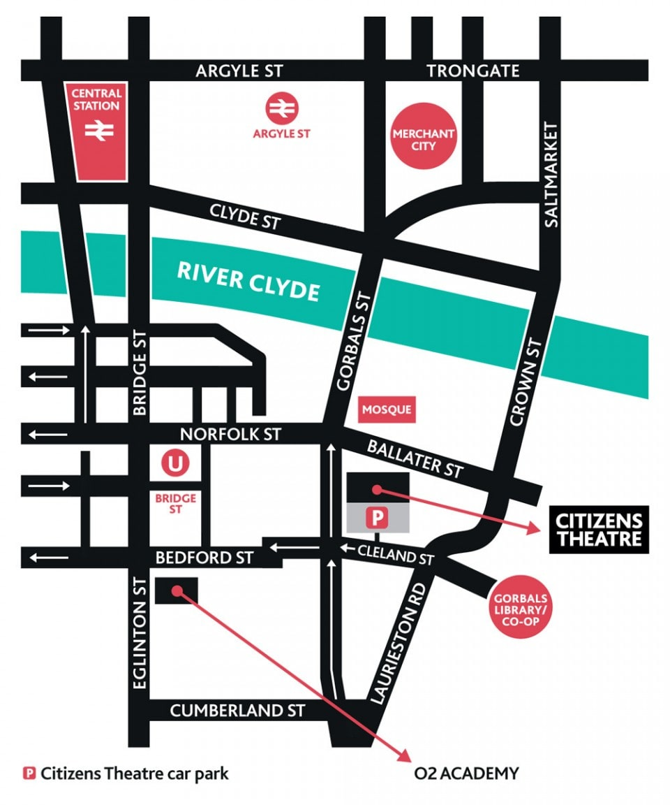 Find Us About Citizens Theatre