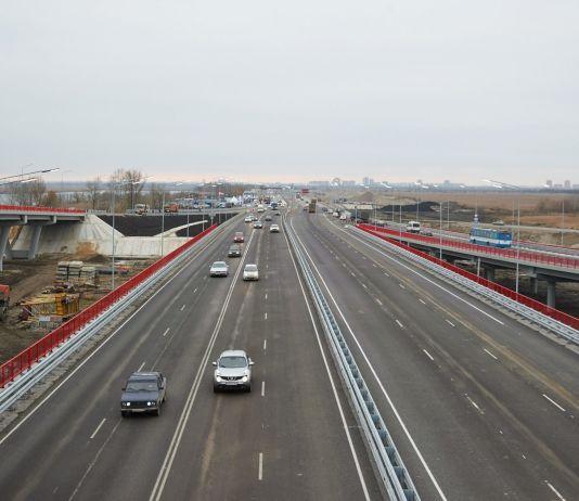Реконструированный южный подъезд к Ростову //Фото: Виталий Ишков