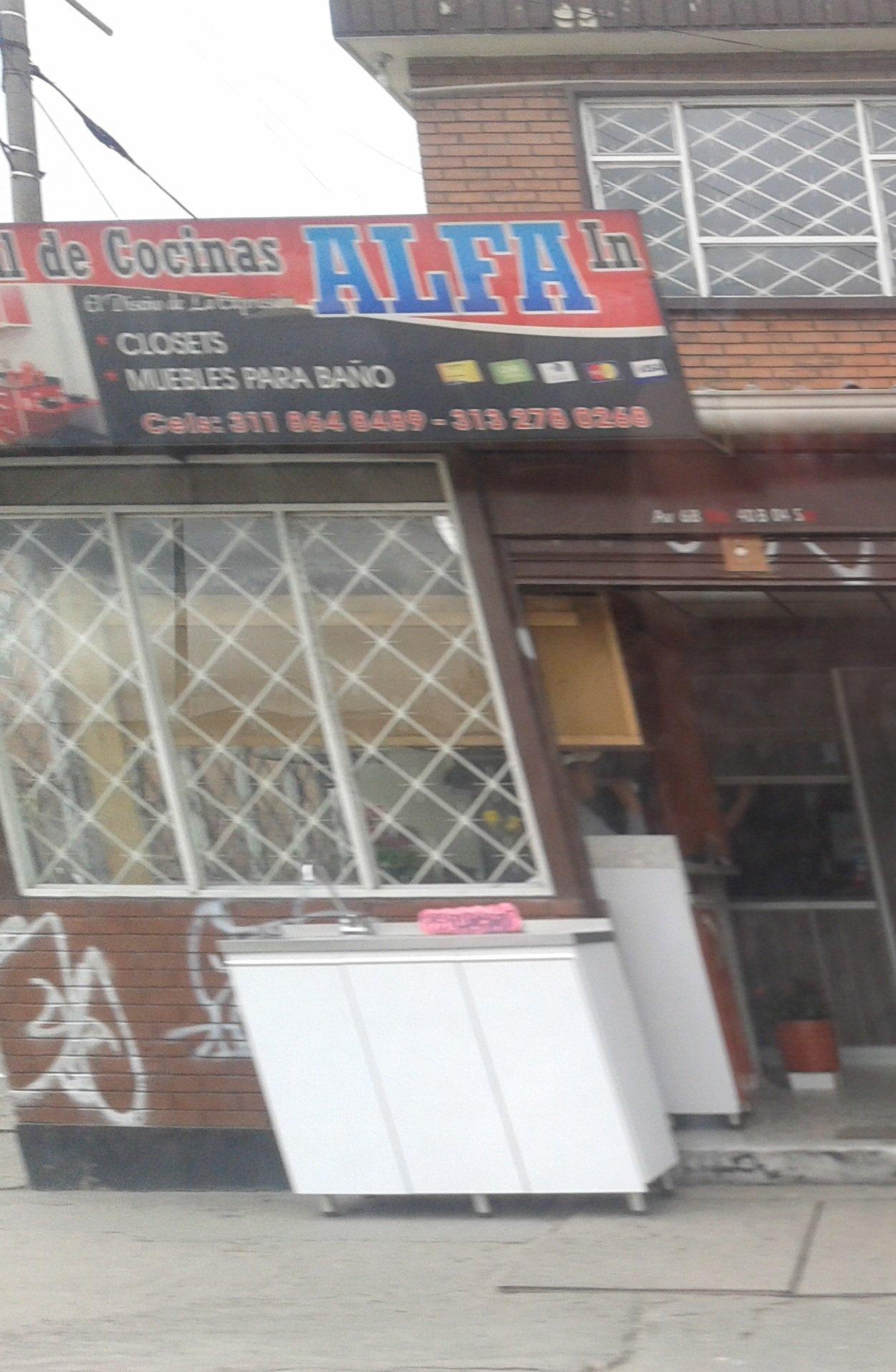 Central de cocinas alfa in alqueria puente aranda bogot for Cocinas alfa bogota