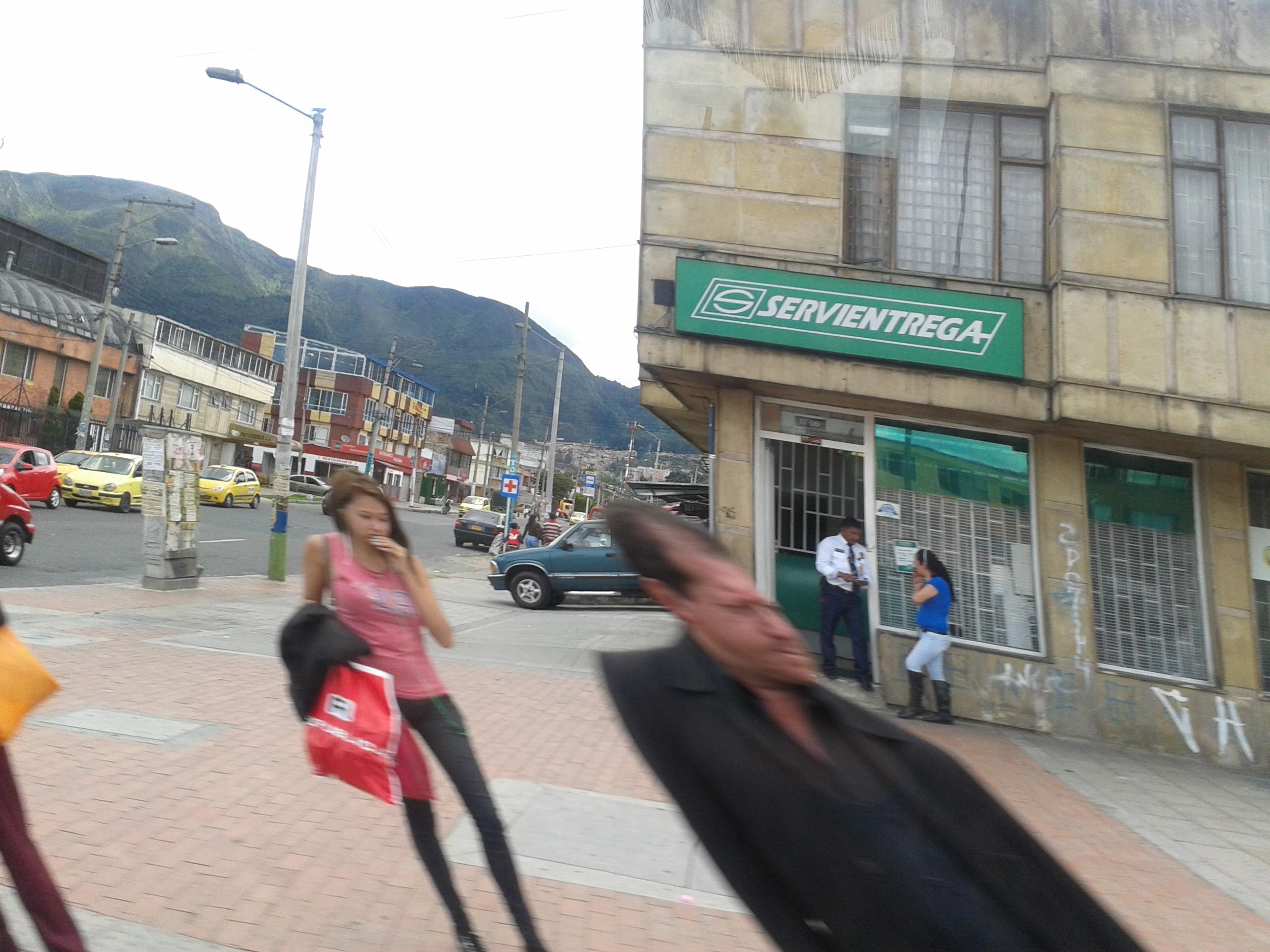 Servientrega ciudad jard n sur avenida primera de mayo for Apartamentos en arriendo bogota ciudad jardin sur