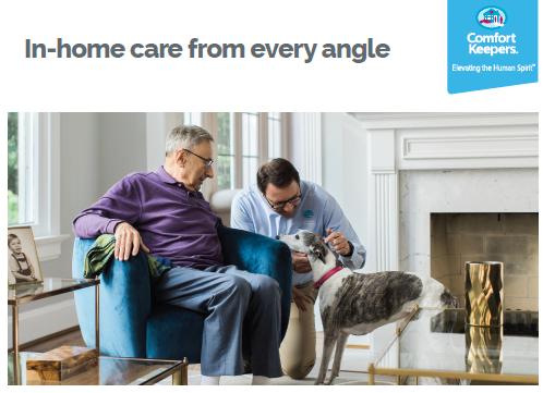 Comfort Keepers service brochure