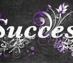 success_word_with_purple