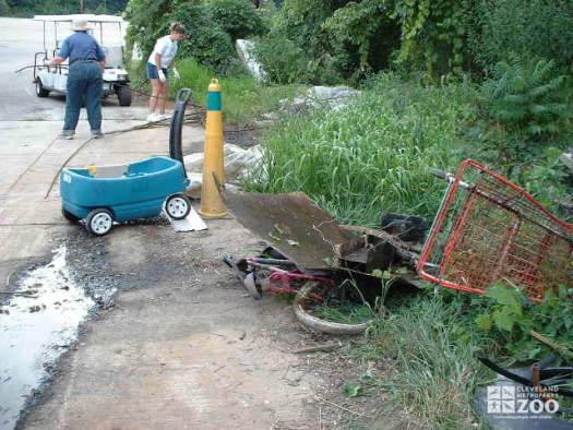 Big Creek Clean-up: All Man Made Debris