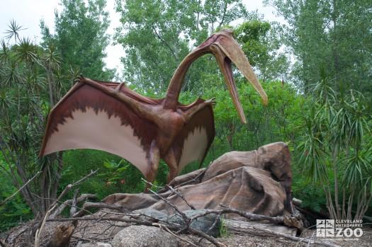 "Queztalcoatlus ""feathered serpent"""