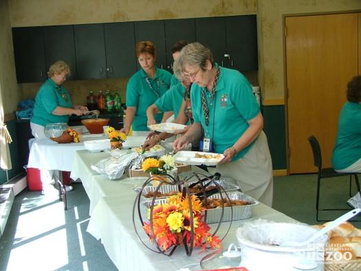 2008 New Volunteer Potluck