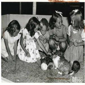 1944 - Rabbits and Children