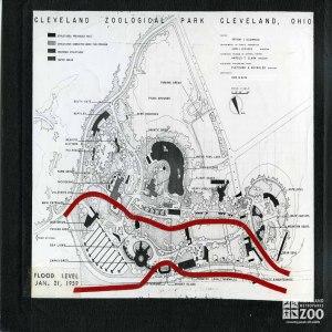 1959 - Map of Flood Levels