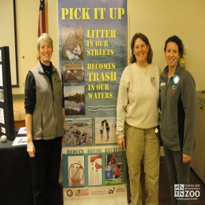 Nancy and Gayle at America Recycles Day Event