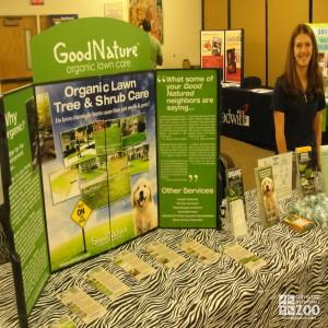 America Recycles Day - Organic Lawn, Tree & Shrub Care Display