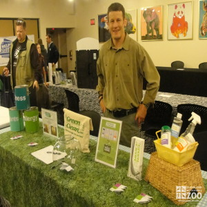 Green Cleaning Products Display