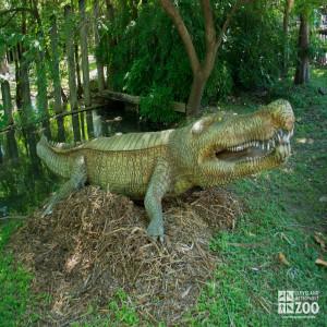 "Deinonsuchus ""terrible crocodile"""