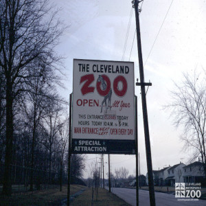 1970 - No. 3 Parking Sign