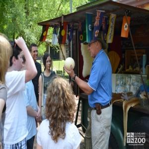 Dennis Interpreting at Pete's Truck