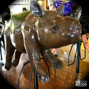 Black Rhino Calf - Carousel